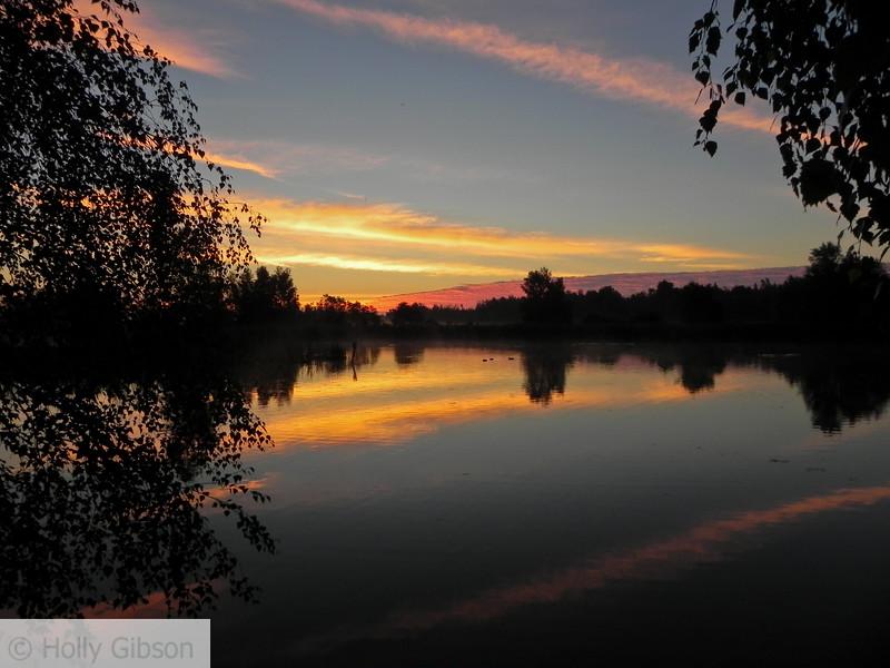 Pond in Sackville, New Brunswick - 109