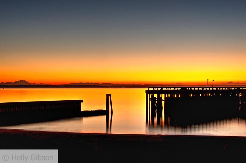 Sunrise at Fort Worden State Park - 166