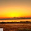 Sunrise over Cascades - Ft. Worden State Park - 199