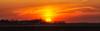 Sunset Behind the Farm