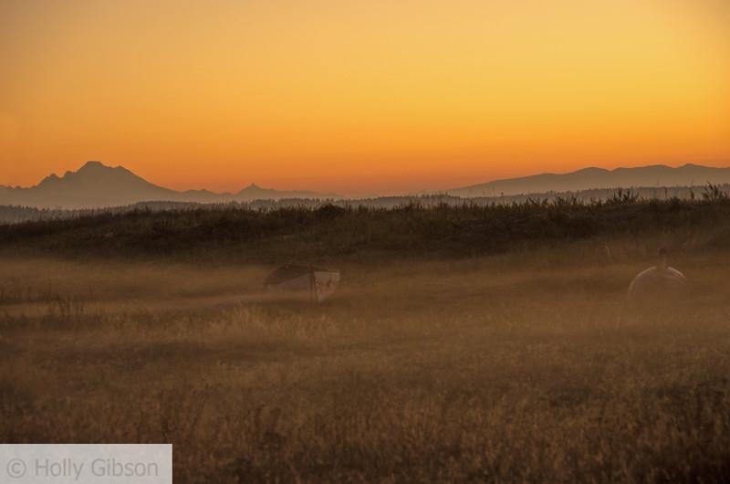 Sunrise at Fort Worden State Park - 163
