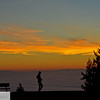 Foggy sunset on Nansen Summit - Portland Oregon - 97