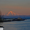 Mt. Hood at sunset - Columbia River - 94