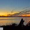 Sunrise at Fort Worden - Puget Sound