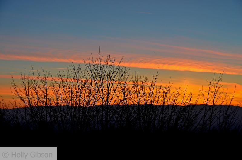 Sunrise over the Cascades - 91