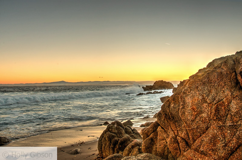 Sunrise at Monterey - near Asilomar Conference Center - 251