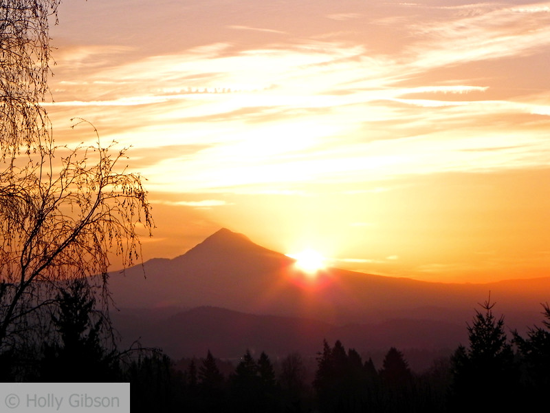 Sunrise over Mt. Hood - 50