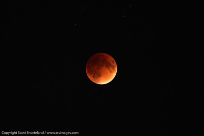 Lunar eclipse, Long Island NY Sept 2015