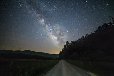 Milky Way over Hyatt Lane