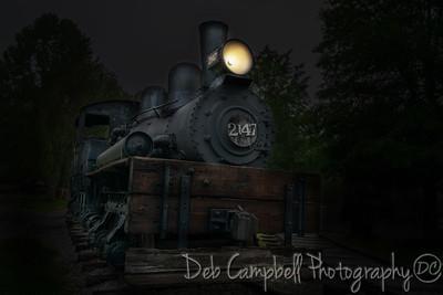 Shay Locomotive 2147