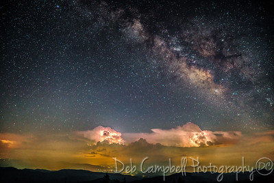 Milky Way over the Smokies