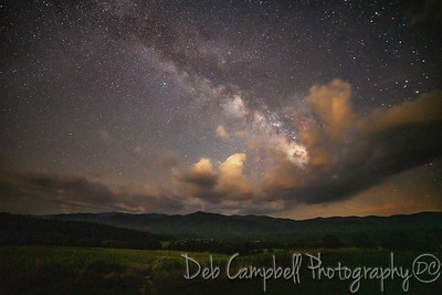 Milky Way over Cades Cove