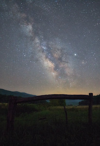 Milky Way over the Cove