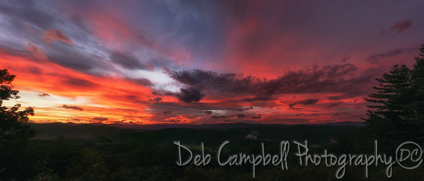 Parkway Sunrise Panorama