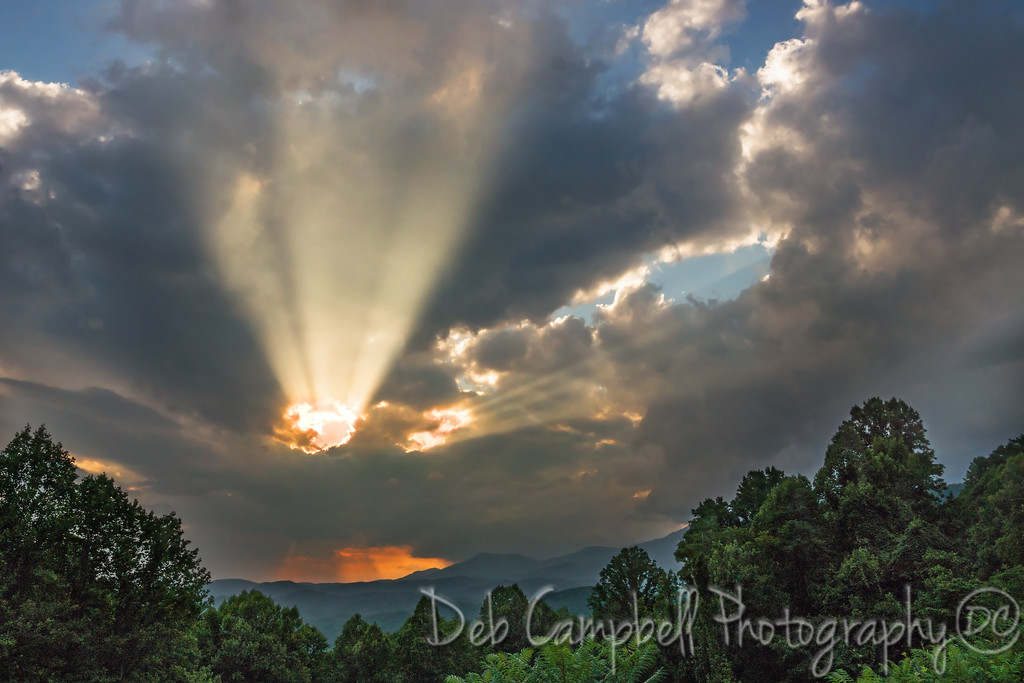 Sunrise from Maloney Point<br /> Great Smoky Mountains National Park