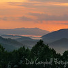 Maloney Point Sunrise<br /> Great Smoky Mountains National Park