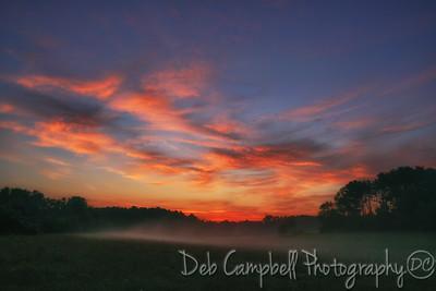 Sunrise on Farris Road