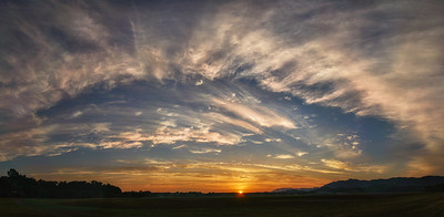 Cristobal Sunrise Pano