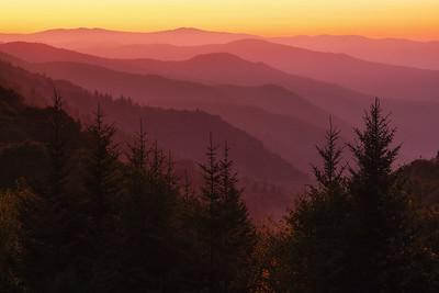 Oconoluftee Sunrise