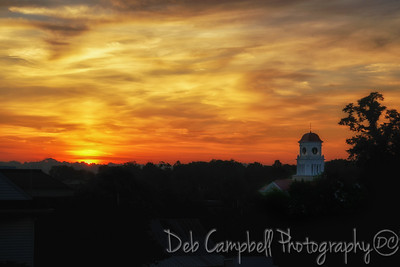 Blount County Courthouse Sunrise