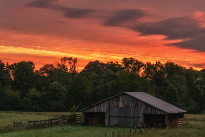 Sunrise in the Country
