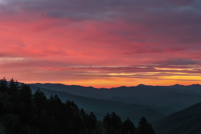 Pre-dawn Skies over the Smokies