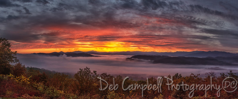 Autumn Sunrise Panorama