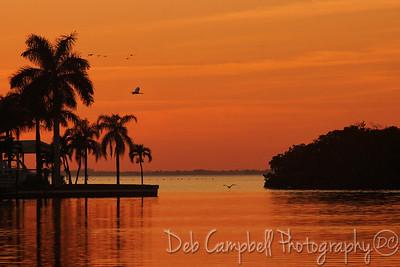 Sunset Ft. Myers, Florida