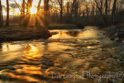 Sunset on Abrams Creek