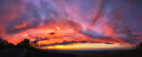 Sunset Panorama over Maryville