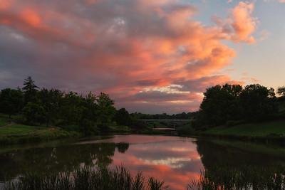 Greenbelt Sunset Reflections