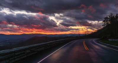 Sunset on the Parkway