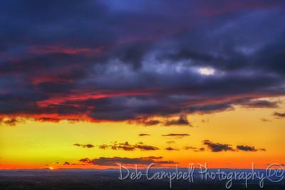 Sunset over Maryville