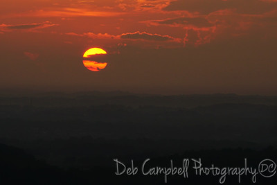Sunset from Foothills Parkway