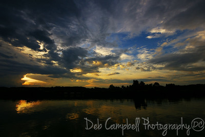 Sunset Sky at  Concord Park Knoxville, Tn