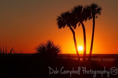 Sunset at Fort DeSoto's North Beach Fort DeSoto State Park St. Petersburg, Florida