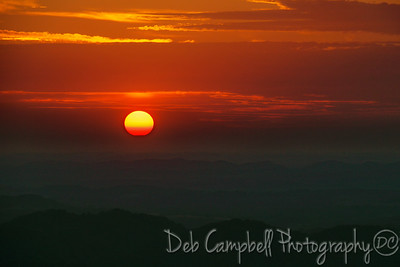 Sunset in the Smokies I