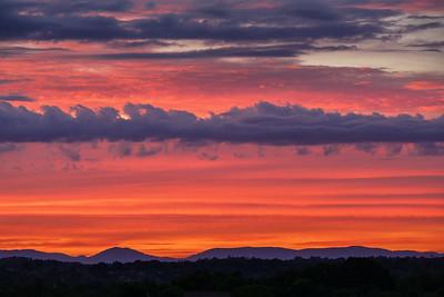 Sunset over Alcoa