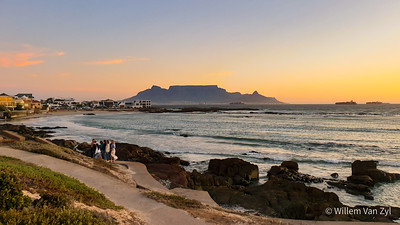 20200318 Bloubergstrand Sunset, Bloubergstrand, Western Cape