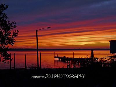 """Rappahannock River Sunset"""