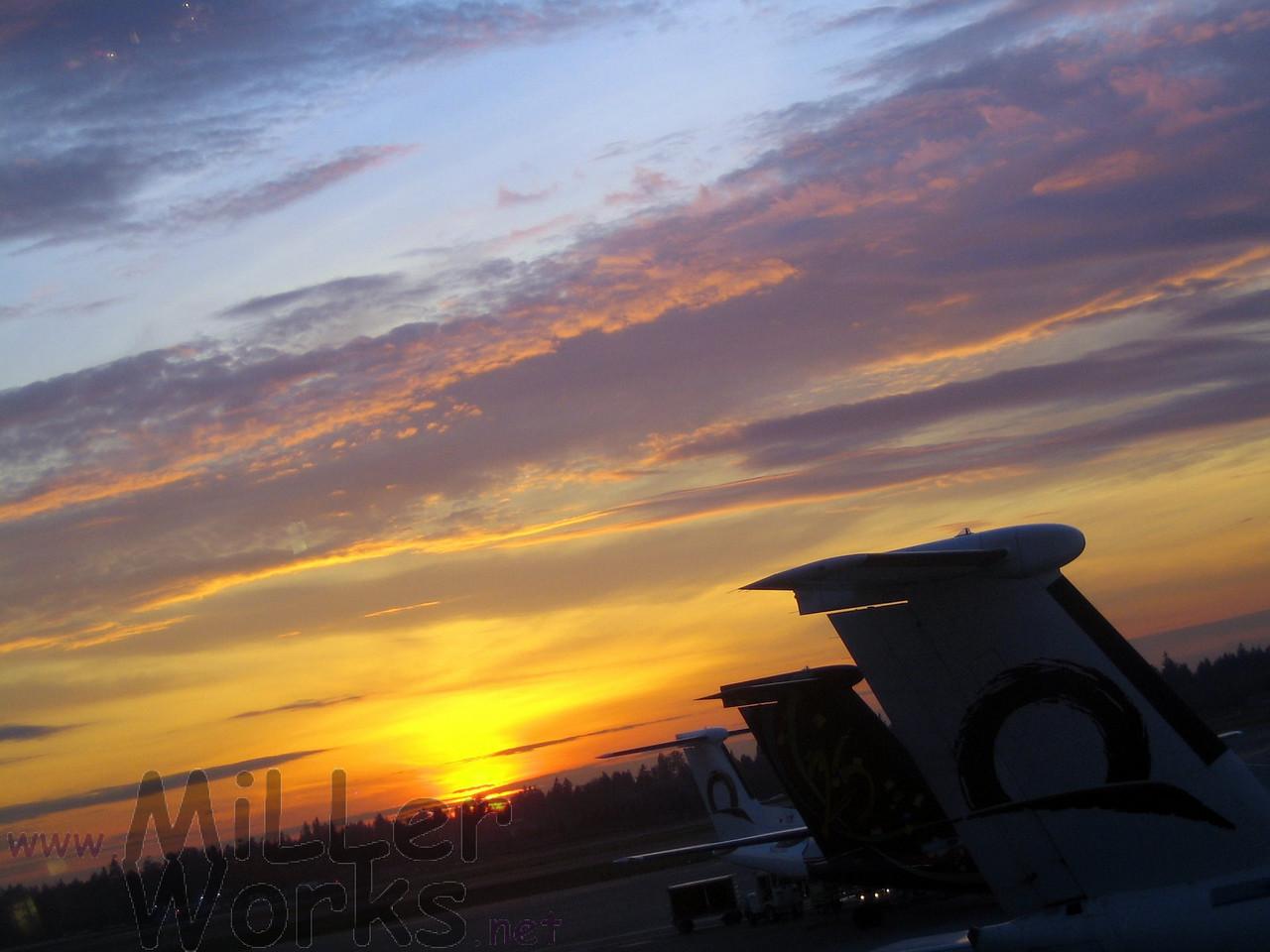 Sunset at Sea-Tac