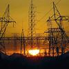 Power Line Sunset Yellow
