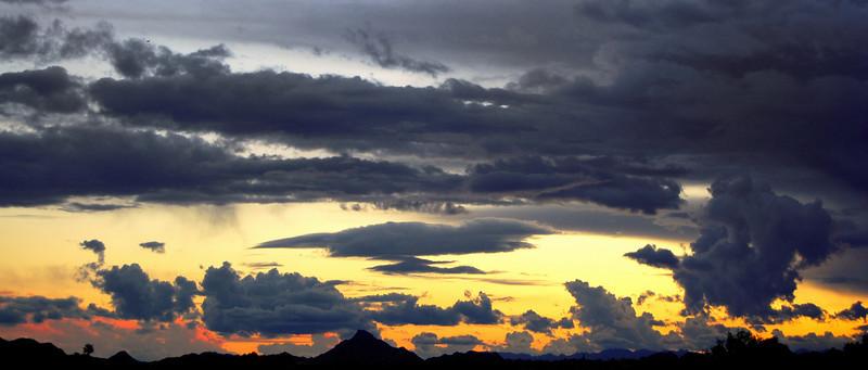 Thanksgiving Day Sunset in Arizona