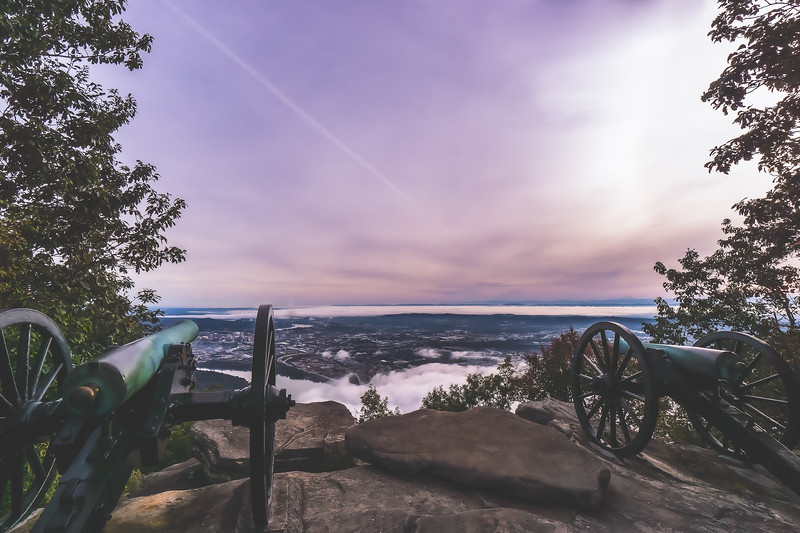 Sunrise at Point Park on Lookout Mountain