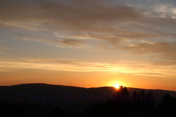 Sunset Ridge Painting II