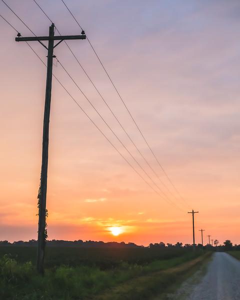 Sunrise in Sullivan County