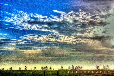 Cycling Sunrise