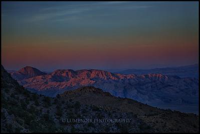 Clark Mountain, Mojave Preserve.