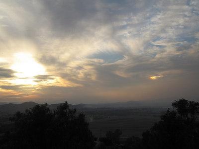 Sunset, 23 Nov 2006