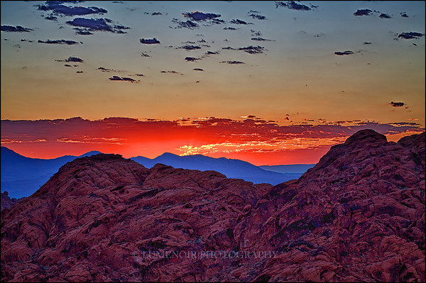 Sunrise at Valley of Fire
